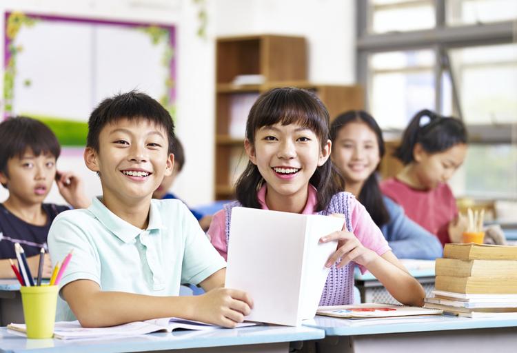 Học sinh Hàn Quốc. Ảnh: Shutterstock