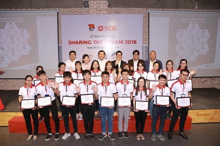 Lễ trao học bổng năm 2018.