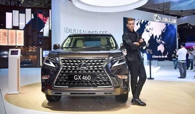 Lexus GX 460 tại Triển lãm Ôtô Việt Nam 2019.