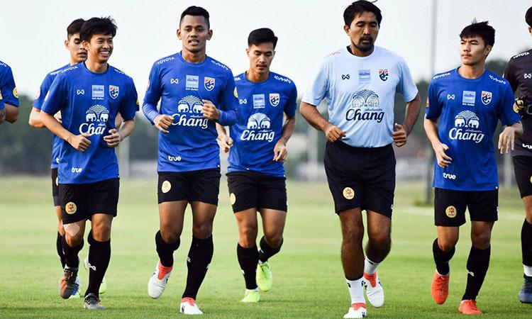 Mục tiêu của Thái Lan ở SEA Games 30 là bảo vệ tấm HC vàng. Ảnh: Bangkok Post.