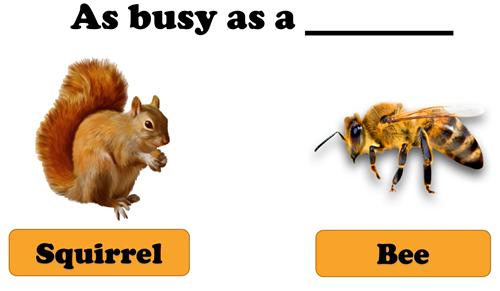 Phân biệt thành ngữ dạng so sánh trong tiếng Anh - 2