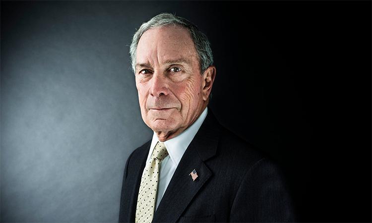 Cựu thị trưởng New York, tỷ phú Michael Bloomberg. Ảnh: NYTimes.