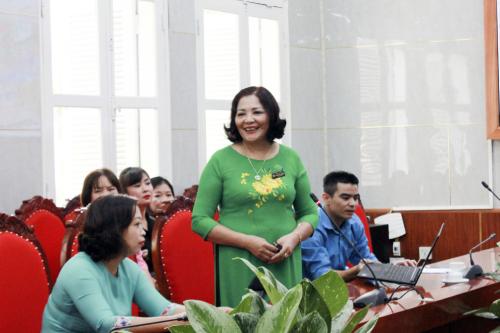 Cô giáo Nguyễn Thị Thường, trường Mầm non Ánh Sao, quận Thanh Xuân, Hà Nội