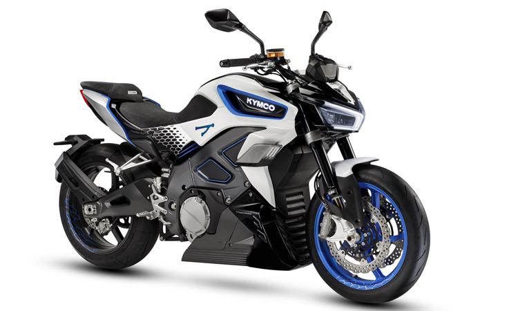 Kymco RevoNEX – môtô điện đến từ Đài Loan