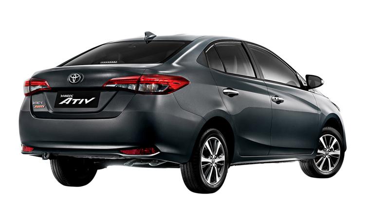 Xe thuộc phân khúc B. Ảnh:Toyota