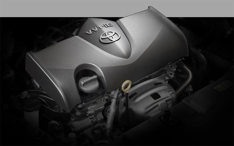 Thay đổi quan trọng nằm ở động cơ, nhằm đạt các quy định Ecocar II tại Thái Lan. Ảnh:Toyota