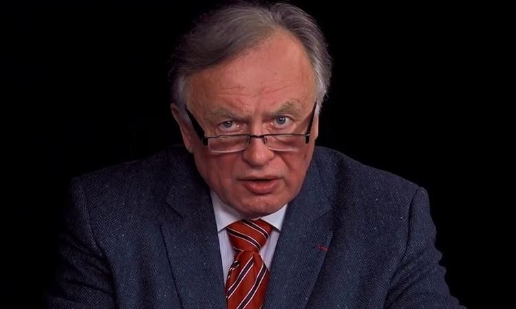 Giáo sư sử học Nga Oleg Sokolov. Ảnh: Crime Russia.