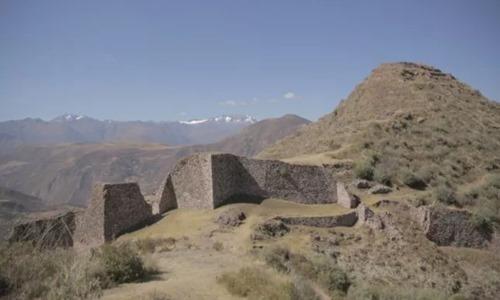 Khu khảo cổ Wata tại Peru với những dấu tích của người Inca. Ảnh: Newsweek.