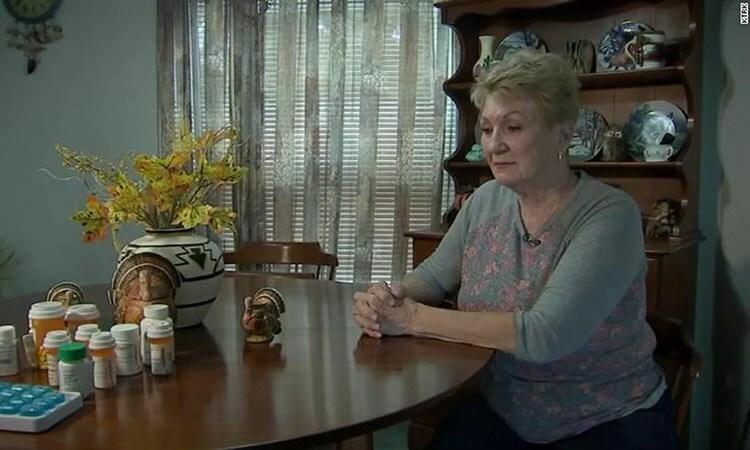 Bà Sherry Ellis tại nhà riêng ở thành phố Magnolia, Texas, Mỹ, hôm 9/10. Ảnh: CNN.