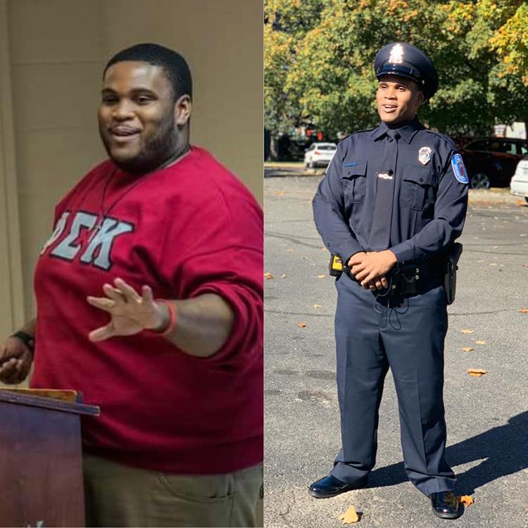 Sự biến đổi về ngoại hình của Romar Lyle sau 4 năm. Ảnh: Richmond Police Department