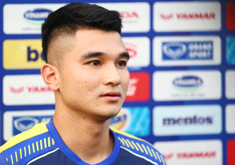 Lê Văn Đại cho biết HLV Park Hang-seo đã nghiên cứu rất kỹ đối thủ UAE.