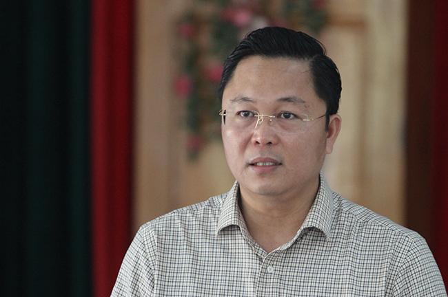 Tân Phó bí thư tỉnh Quảng Nam, ông Lê Trí Thanh. Ảnh: Đắc Thành.