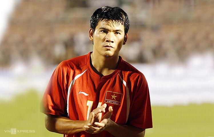Huỳnh Quang Thanh từng cùng ĐTVN vào tứ kết Asian Cup 2007 và vô địch AFF Cup 2008. Ảnh: Đức Đồng.