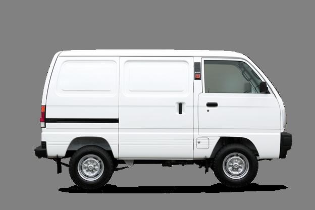 Những ưu điểm trên mẫu xe tải nội đô Suzuki Blind Van