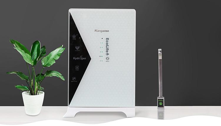 Máy lọc nước mới nhất của Kangaroo - Hydrogen Lux.