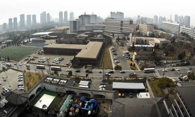 Một góc căn cứ Yongsan. Ảnh: US Army.