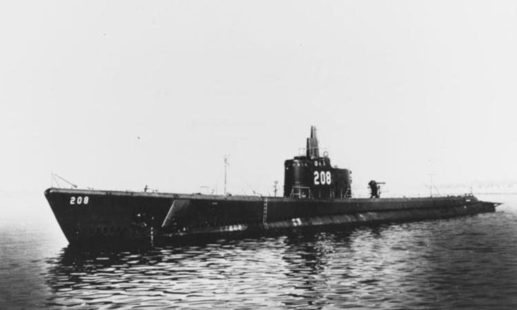 Tàu ngầm USS Grayback năm 1941. Ảnh: CNN.