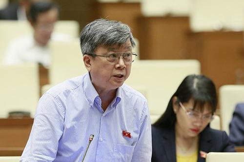 Đại biểu Trương Trọng Nghĩa. Ảnh: Trung tâm báo chí Quốc hội