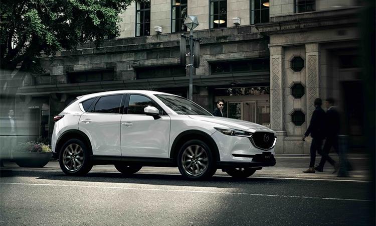 CX-5 bản nâng cấp ra mắt tại Thái Lan. Ảnh: Mazda.