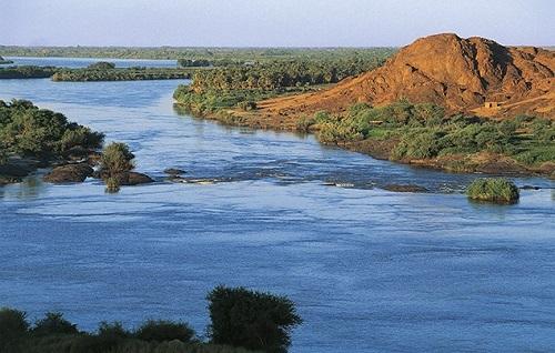 Một phần dòng sông dài nhất thế giới. Ảnh: National Geographic