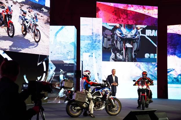 Bộ đôi Honda Africa Twin ra mắt tại EICMA 2019.