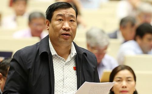 Đại biểu Thạch Phước Bình. Ảnh: Trung tâm báo chí Quốc hội