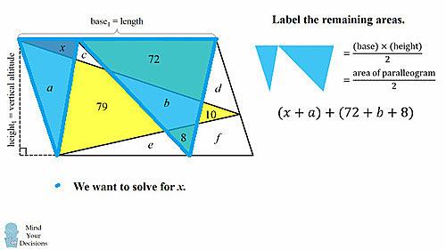 Thử sức với bài toán tính diện tích hình tam giác đỏ - page 2 - 3