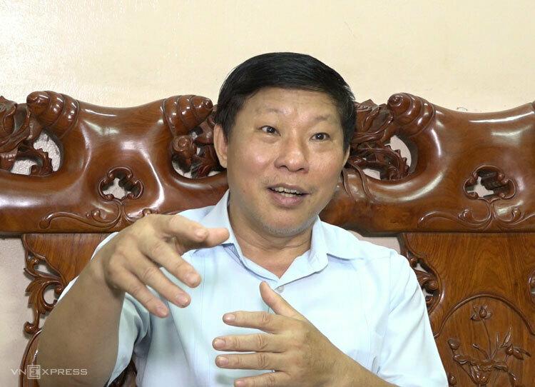 TIến sĩ Phạm Bá Khoa, nguyên Giám đốc Bảo tàng Tuổi trẻ từng có 4 năm làm việc trên công trường thủy điện Hòa Bình. Ảnh: Trấn Huấn.