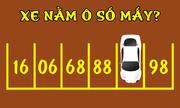 Ôtô đang đè lên số mấy?