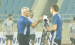 UAE tập luyện lần cuối trước trận đấu Việt Nam