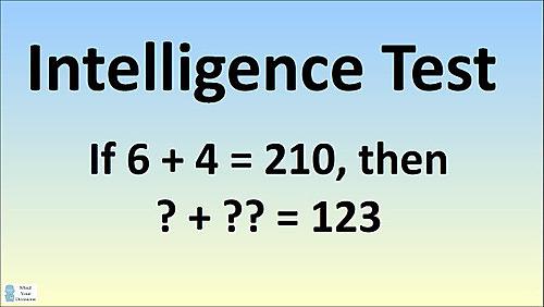Giải được bài toán này, IQ của bạn thuộc nhóm thiên tài
