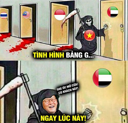 Liệu thầy Park có khiến HLV UAE bị sa thải.