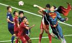 Ảnh chế: Đặng Văn Lâm hóa siêu nhân, khiến Nhật Bản ngao ngán