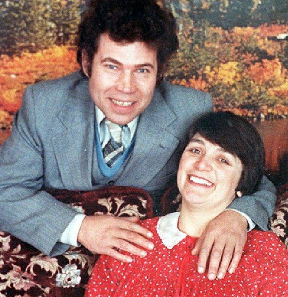 Cặp vợ chồng sát nhân hàng loạt Fred và Rosemary West. Ảnh: PA.