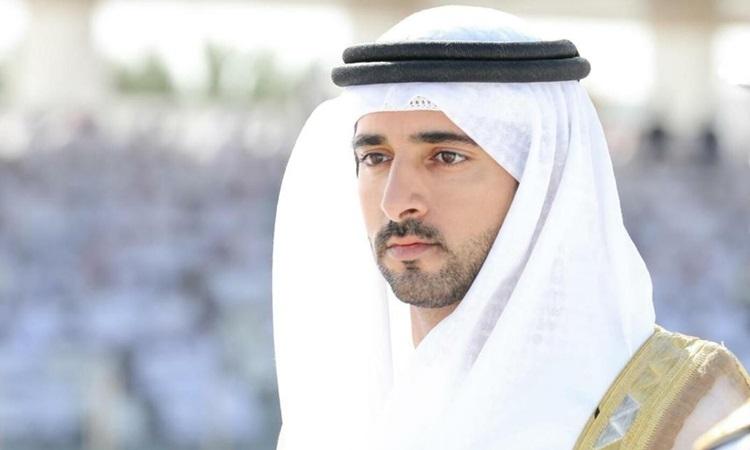 Thái tử kiêm Chủ tịch Hội đồng điều hành Dubai Hamdan bin Mohammed bin Rashid Al Maktoum. Ảnh: National.