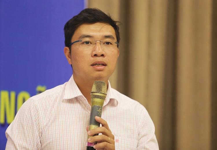 Ông Nguyễn Tiến Thành, nguyên Giám đốc Ban quản lý dự án đường cao tốc Đà Nẵng - Quảng Ngãi. Ảnh: Đắc Thành