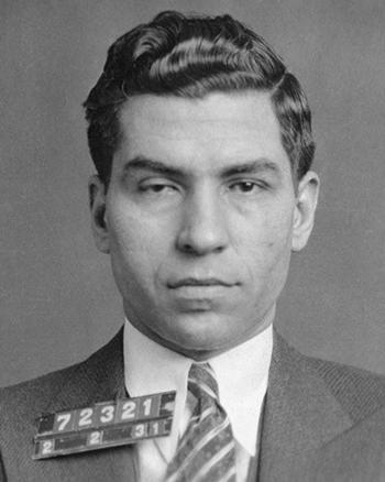 Charles Luciano, một trong 5 trùm mafia ở New York trong thập niên 1930 - 1960. Ảnh: Commons.