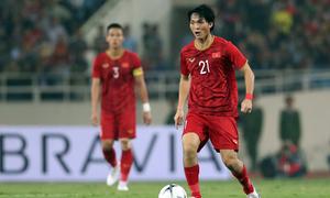 Tuấn Anh được khen sau trận thắng UAE