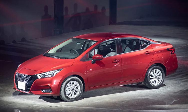 Nissan Almera (Sunny) ra mắt tại Thái Lan hôm 14/11. Ảnh:Motortrivia.