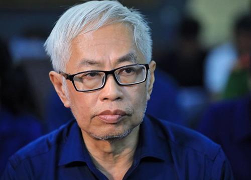 Ông Bình trong phiên tòa phúc thẩm hồi tháng 5. Ảnh: Hữu Khoa.