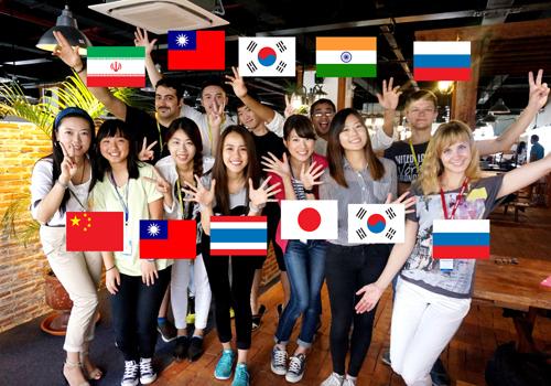 Nhiều bạn trẻ châu Á lựa chọn du học tiếng Anh tại Philippines.
