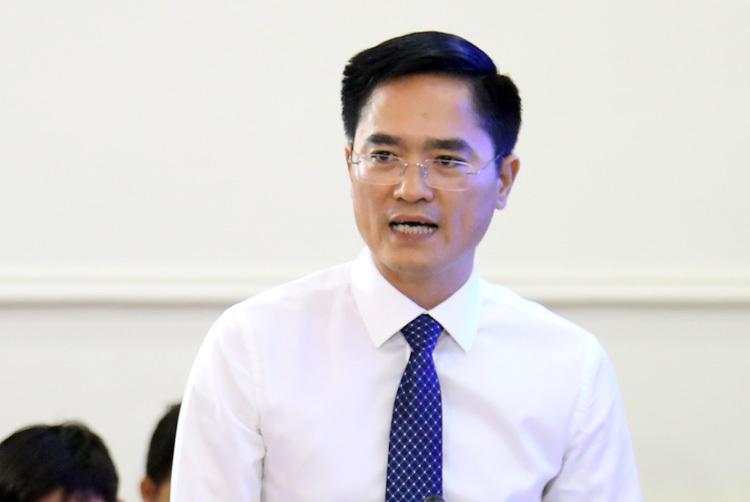 Giám đốc Sở Giao thông Vận tải TP HCM Trần Quang Lâm. Ảnh: Hữu Nguyên