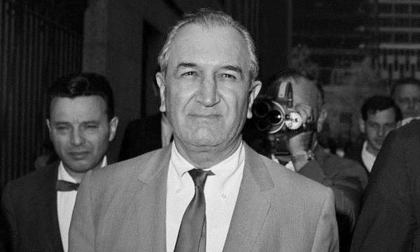 Joseph Bonanno tại New York năm 1968. Ảnh: AP.
