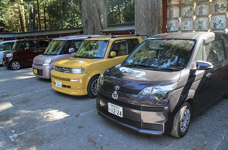 K-car tại Nhật. Ảnh: Đức Huy