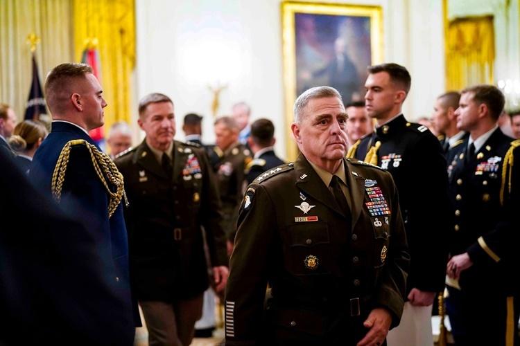 Tướng Miller tại Nhà Trắng hồi tháng 10. Ảnh: NYTimes.