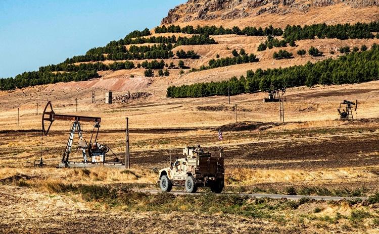 Một mỏ dầu ở đông bắc Syria. Ảnh: AFP.