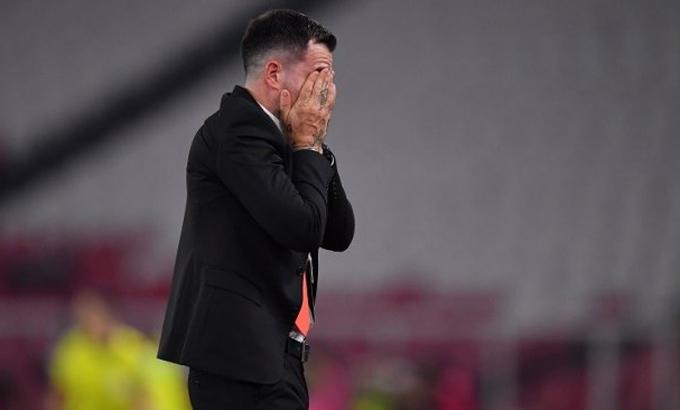 Simon McMenemy không còn bận tâm đến trận cuối cùng dẫn dắt Indonesia. Ảnh: BolaTimes