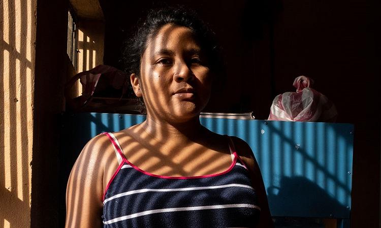 Teresa Ramirez, cô gái có thai ngoài ý muốn ở Honduras. Ảnh: Al Jazeera.