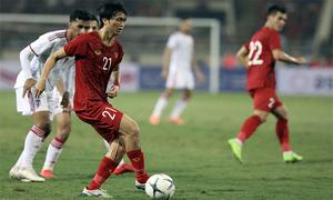 Tuấn Anh, Tiến Linh cao điểm nhất trận Việt Nam - UAE