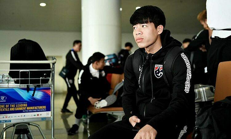 Ekanit Panya ra mắt đội tuyển Thái Lan tháng 9/2019 nhưng đã chiếm suất đá chính. Ảnh: Changsuek.